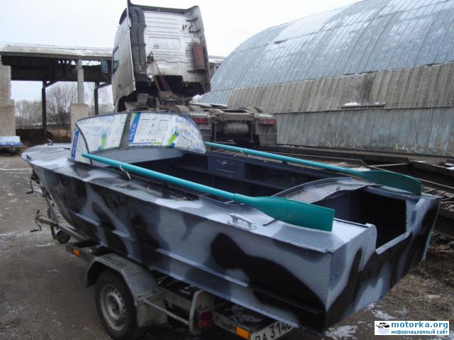 Фото лодки прогресс