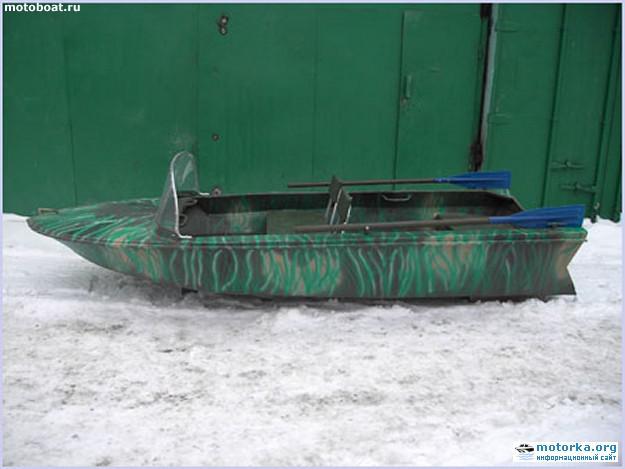 Характеристики лодки Янтарь