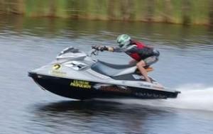 Максимальная скорость гидроцикла