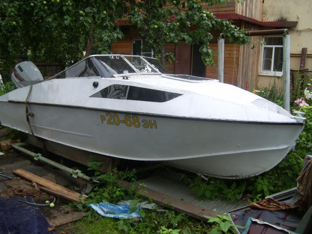 Моторная лодка прогресс 4