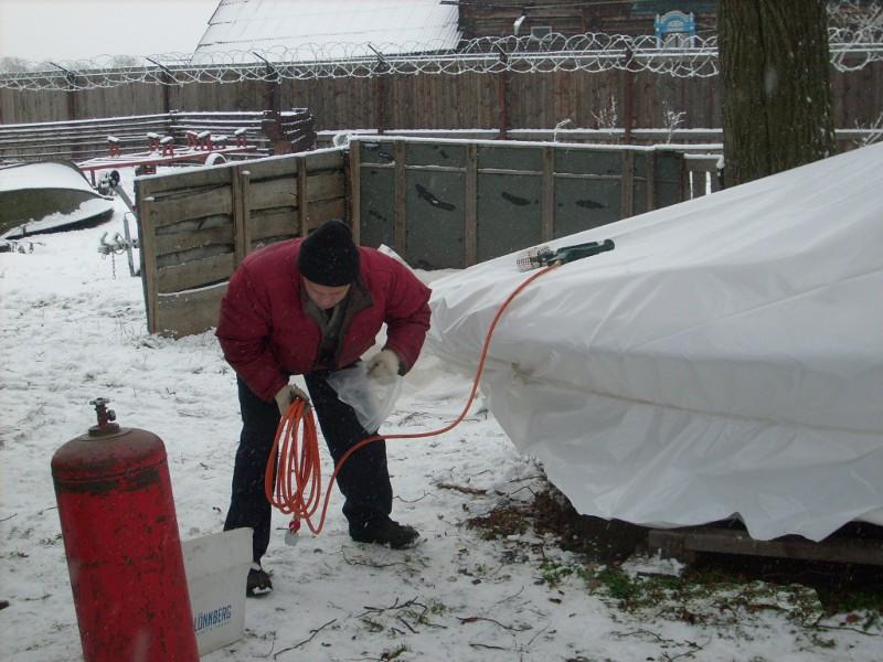 Консервация катера на зиму