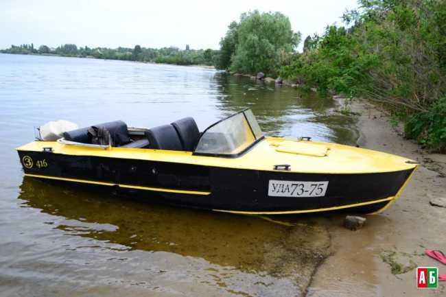 Лодка прогресс 3