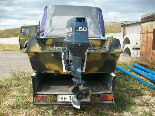 Моторная лодка Казанка 5м