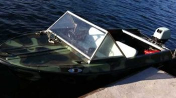 Технические характеристики моторной лодки Крым