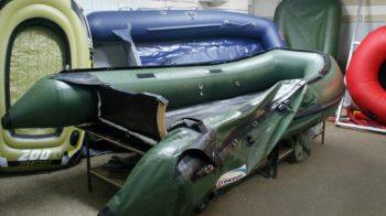 Как отремонтировать надувную лодку ПВХ своими руками