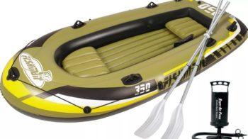 Отзывы о надувной лодке Fishman 350. Стоит ли купить?